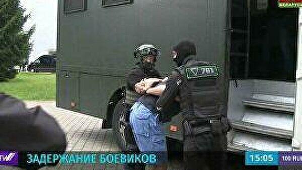 Кадры задержания боевиков ЧВК в Белоруссии