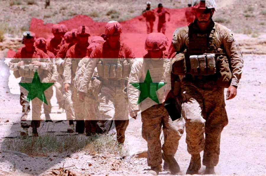 Скандал в Сирии: сирийские дети забросали камнями педофилов из армии США