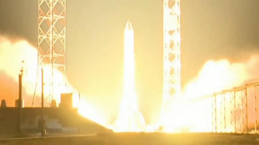 С Байконура стартовала ракета-носитель «Протон-М» с двумя космическими аппаратами