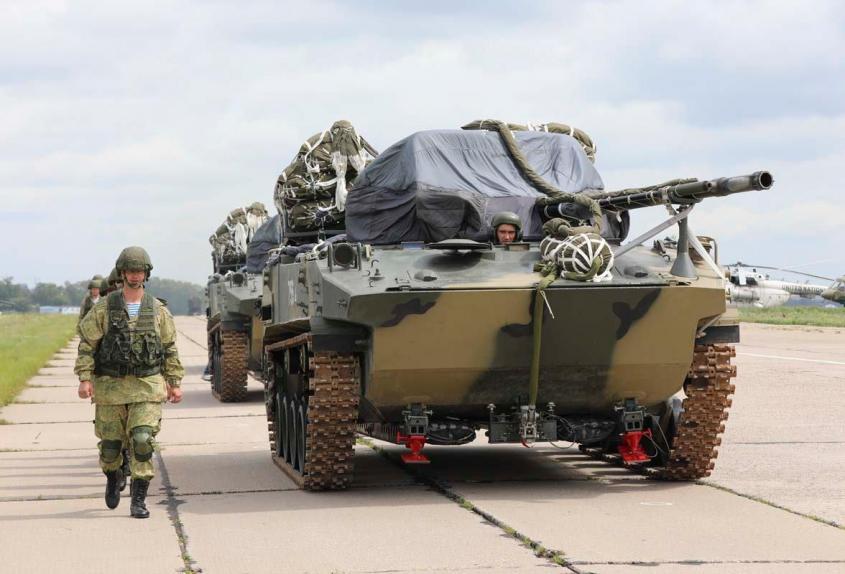 На что способны Воздушно-десантные войска России «Сила быстрого реагирования»