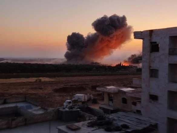 Идлиб. Враг начал наступление в Сирии, ВКС России наносят мощнейшие удары | Русская весна