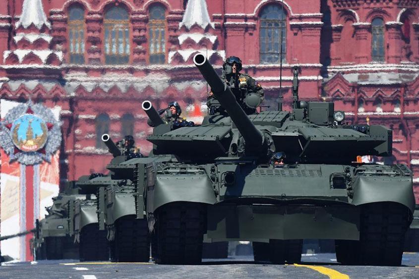 Реактивная модернизация: какие возможности получили русские танки Т-80БВМ
