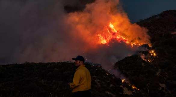 Лесные пожары в Калифорнии набирают обороты: эвакуированы тысячи людей | Русская весна