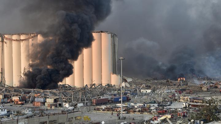 В результате взрыва в Бейруте пострадала половина города – сообщил губернатор