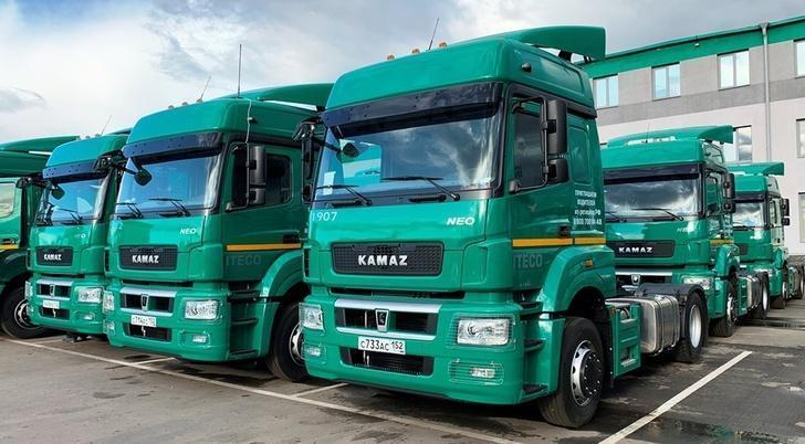 За 7 лет российская транспортная компания «ИТЕКО» закупила более 2250 новых КАМАЗов!