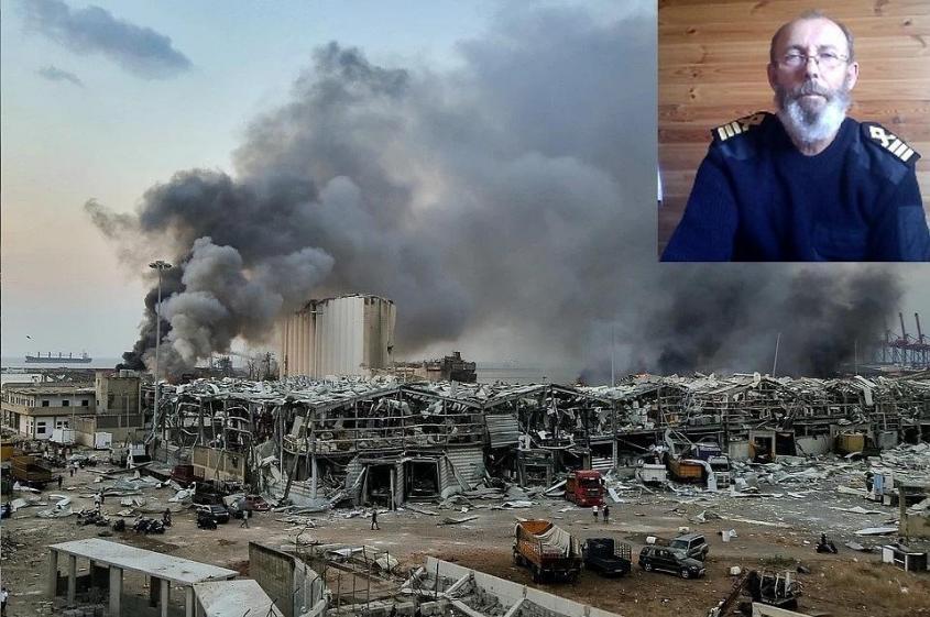 Капитан рассказал о грузе, который, предварительно, взорвался в Бейруте Фото: GLOBAL LOOK PRESS/ok.ru