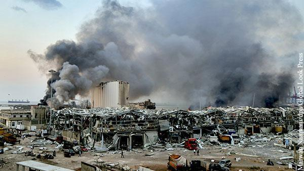 Плавучая бомба уничтожила экономику Ливана