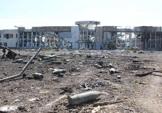 Донецкий аэропорт: огонь по своим американцам
