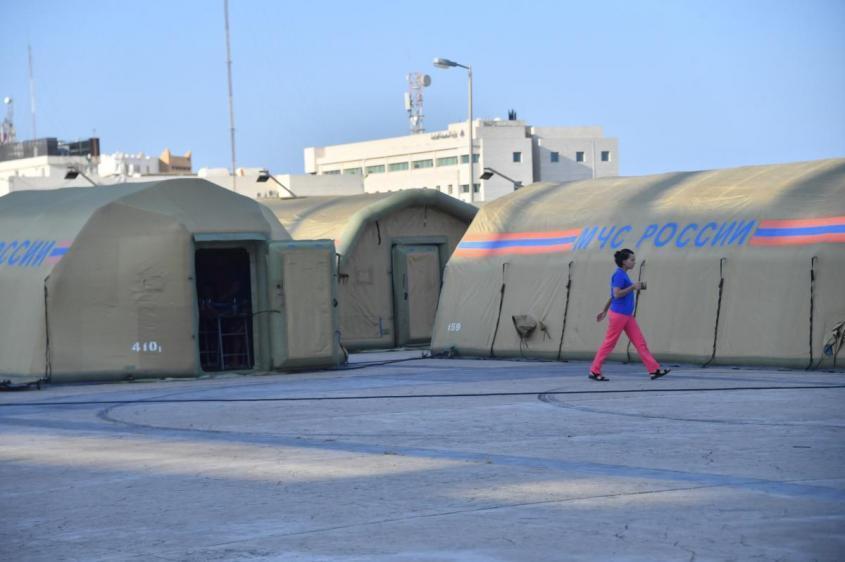 Россия начала спасательную операцию в Ливане