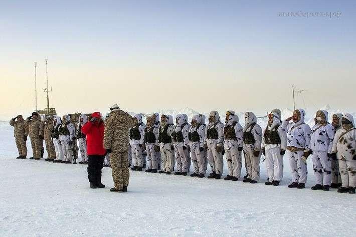 Объединенное стратегическое командование «Север» приступило к выполнению задач в Арктике