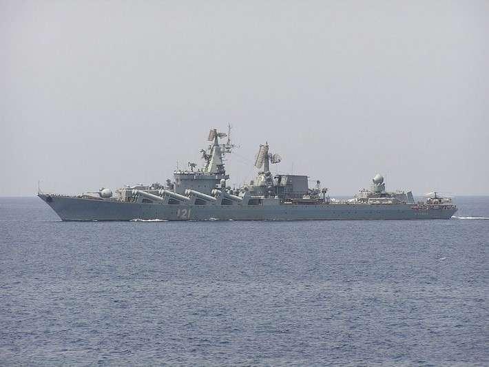 Заново сформирована 30 дивизия надводных кораблей Черноморского флота