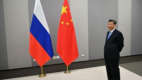 Председатель Китайской Народной Республики Си Цзиньпин перед началом встречи с президентом РФ Владимиром Путиным