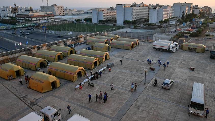 Госпиталь МЧС России в Бейруте за два дня работы принял 92 человек