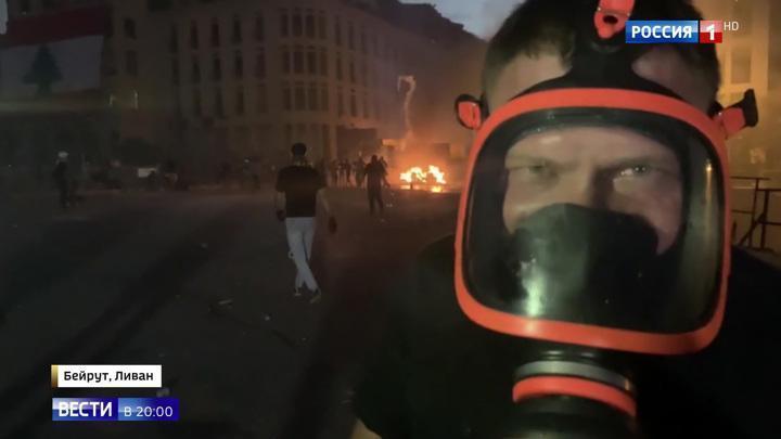 Ливанцы штурмуют государственные министерства, полиция применила спецтехнику