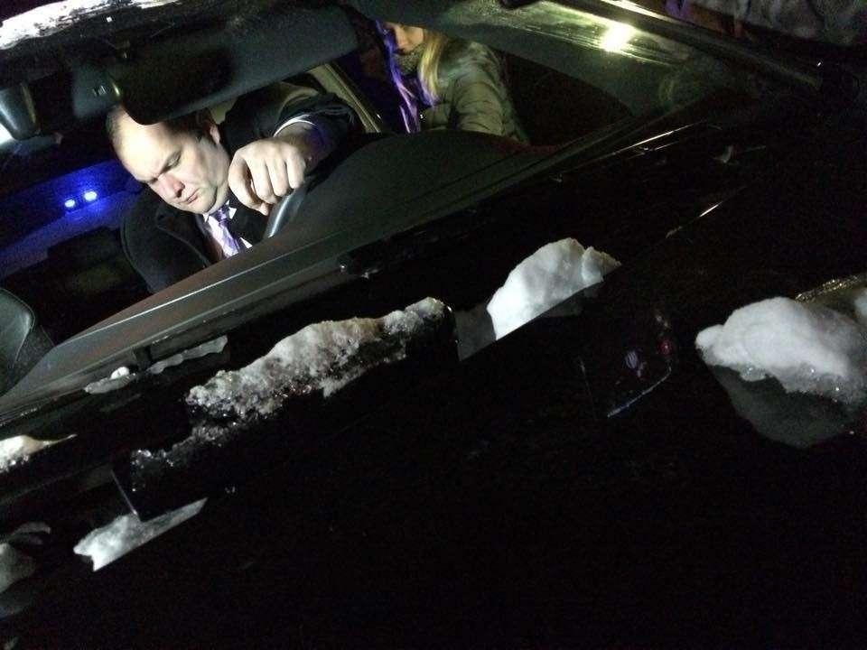 Днепропетровской прокурор напился и угнал авто