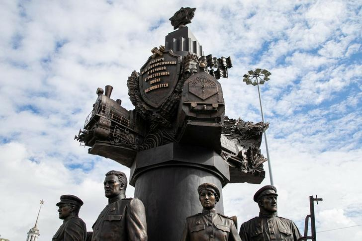 В Москве открыт памятник ветеранам Великой Отечественной войны