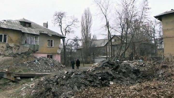 Украинская артиллерия вновь обстреливает мирные кварталы Донецка