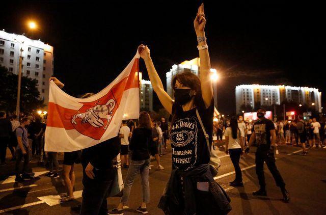 За протестами в Белоруссии торчат польские уши