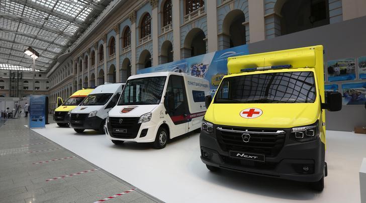 Группа ГАЗ разработала новые модульные автомобили скорой помощи