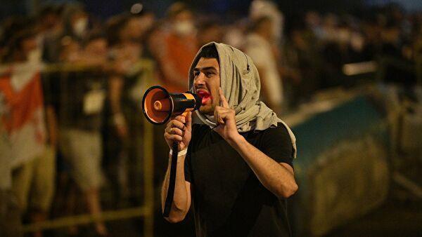 В Белоруссии завершился четвертый день протестов 12.08.2020 12.08.2020