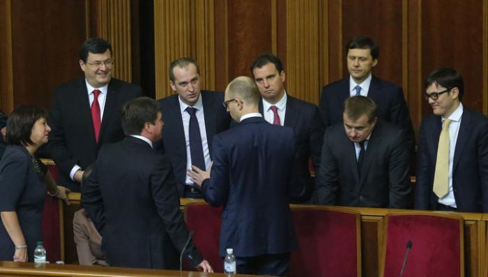 Новое правительство Украины начинает работать