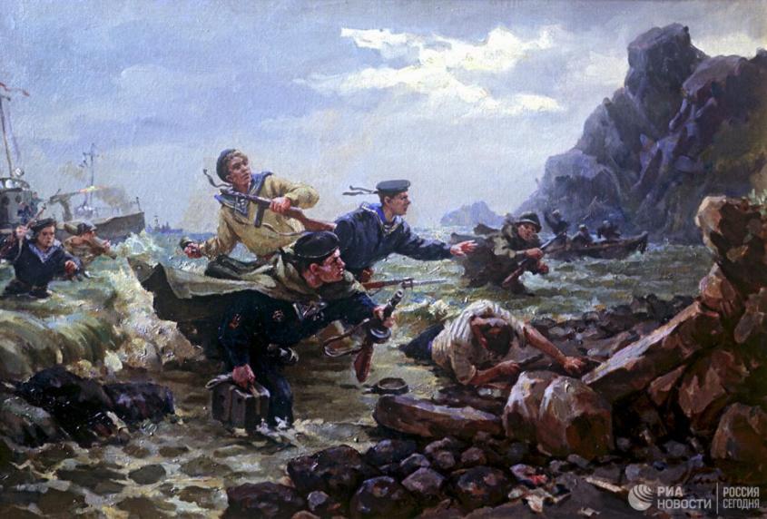 Как русская армия обошлась с японцами на Курилах