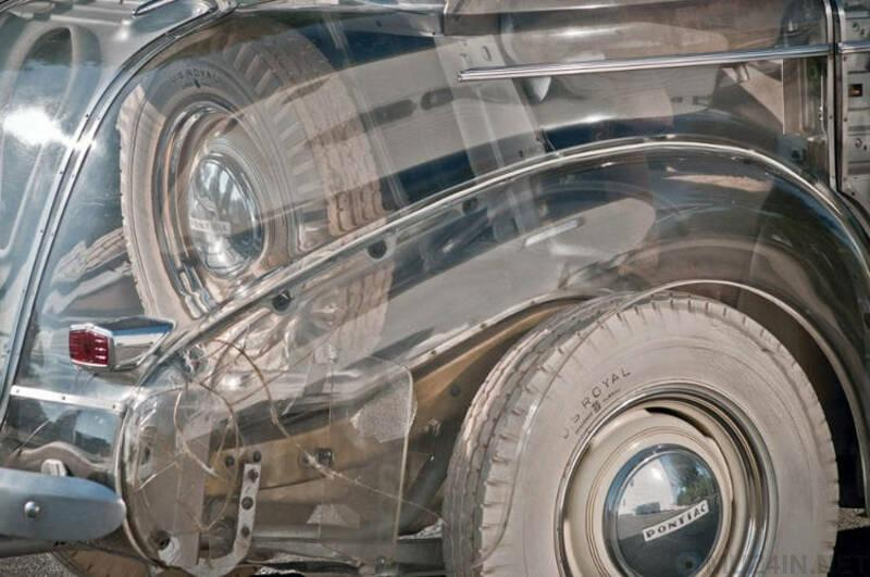 Забытое чудо – первый прозрачный автомобиль, сделанный в США в 1939 году
