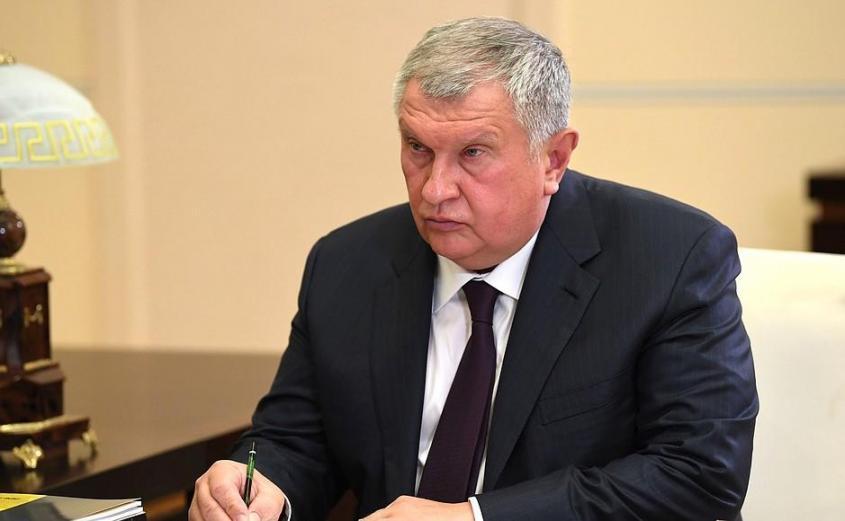 Главный исполнительный директор, председатель правления компании «Роснефть» Игорь Сечин.