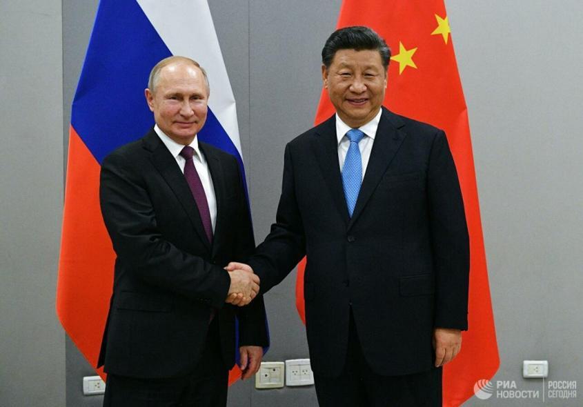 Где место России в холодной войне Китая и США?