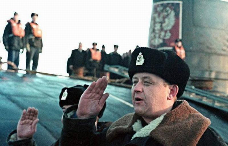 Подводная лодка «Курск». Они пали за то, чтобы Россия жила