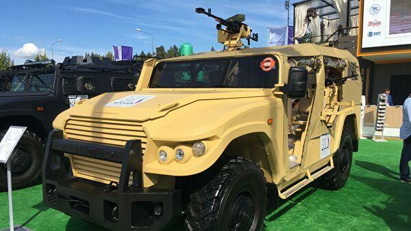 Бронеавтомобиль Тигр в варианте багги на военно-техническом форуме Армия 2020