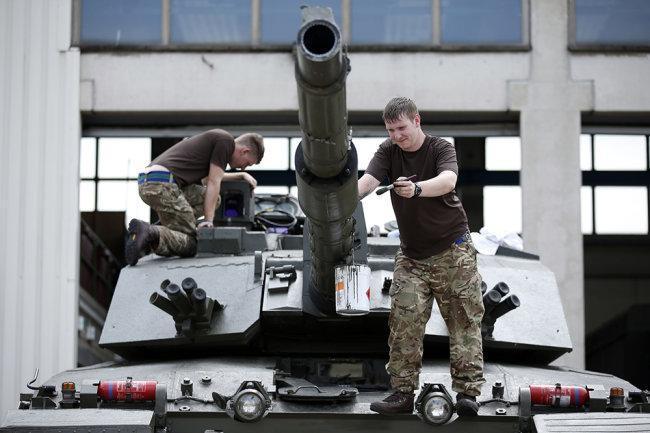 В Британии могут утилизировать все военные танки
