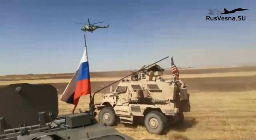 Как армия России гоняла военных США в Сирии – репортаж РВ