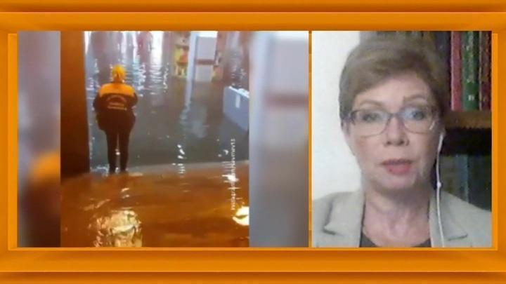 Потоп в Третьяковке и затопленные переходы: в Москве ликвидируют последствия ливня