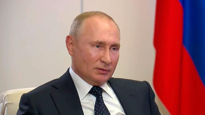 Интервью Владимира Путина ведущему программы