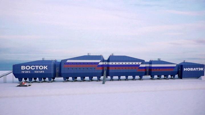 Современная русская полярная станция скоро отправится на Южный полюс