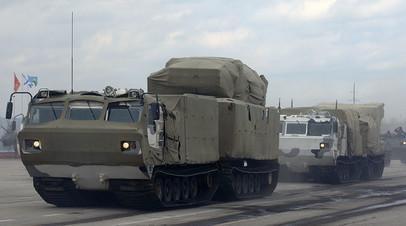 Российский военный арктический снегоболотоход