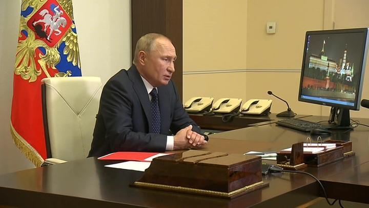 Владимир Путин обсудил с Совбезом отношения с соседними странами