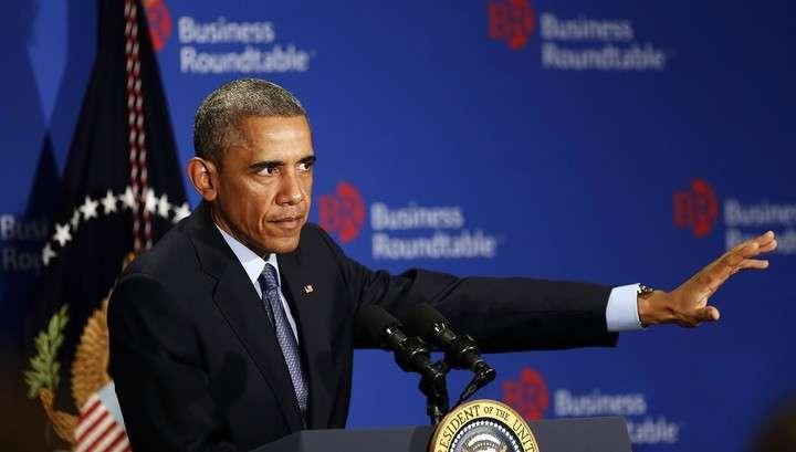 Баран Обама: только санкции изменят политику России
