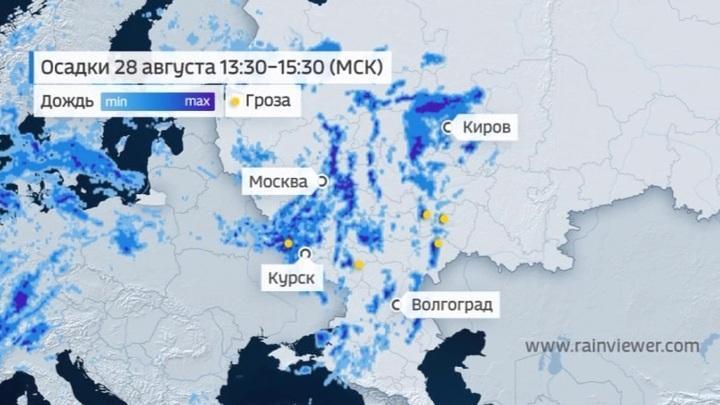 Лето даст последний бой осени в последний день августа в России