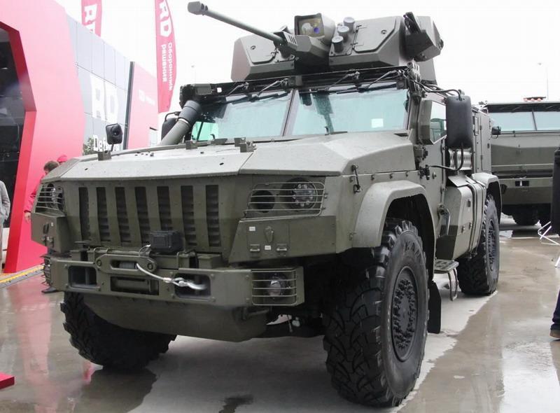 На форуме «Армия-2020» показали новейший «Тайфун К-4386» с боевым дистанционным модулем