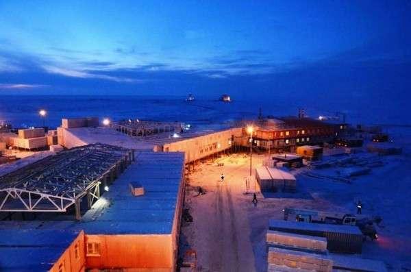 Спецстрой сдал в эксплуатацию в Арктике третий военный городок