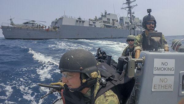 Учения моряков ВМС США