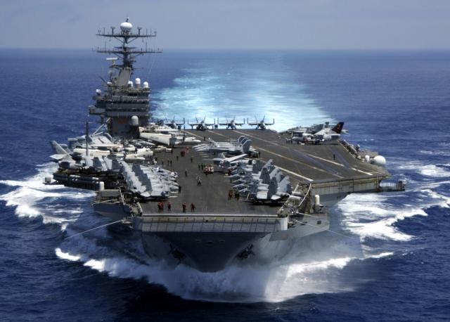 Атомный авианосец «Карл Винсон» ВМС США