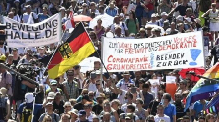 Протесты в Германии: почему Белоруссия, Россия и Украина – это точно не Европа