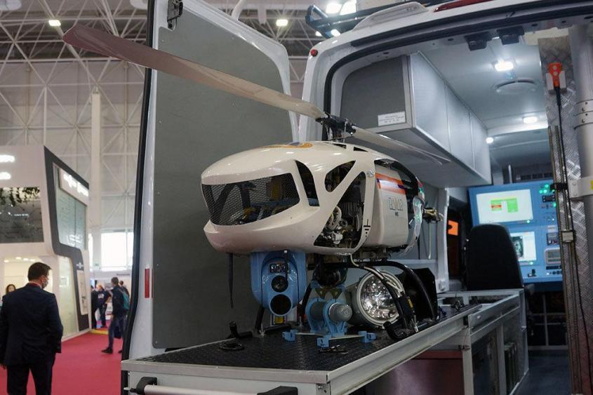 Первый российский беспилотный вертолет проходит пробную эксплуатацию