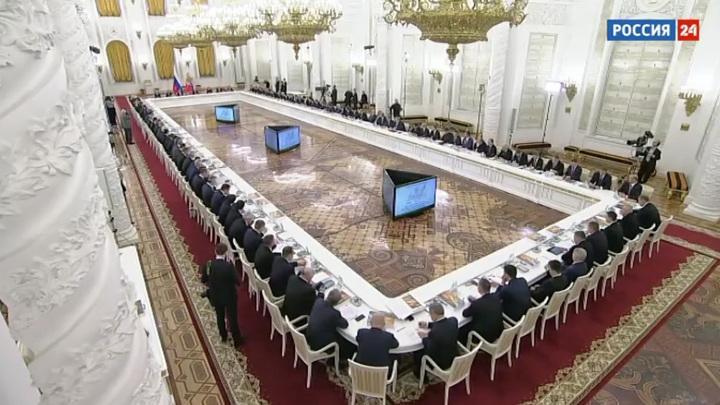 Владимир Владимир Путин объяснил, почему Госсовет должен быть закреплен в Конституции России
