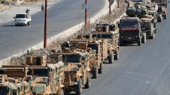 В Сирию вторглись сотни танков и БТР-ов | Русская весна