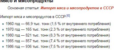 Продуктовая безопасность в СССР и современной России. А так ли хорошо было в СССР как нам малюют?