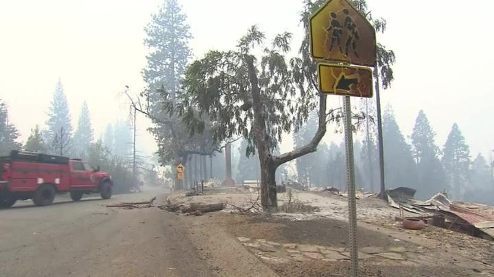 Пожары в Калифорнии достигли исторического максимума